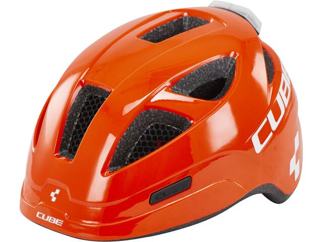 Cube Pro Casco Bambino, orange